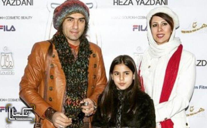 wife reza yazdani - بیوگرافی رضا یزدانی و همسرش شبنم لالِمی + زندگی شخصی