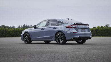 2022 Honda Civic Hatchback 1 390x220 - پردهبرداری رسمی از هوندا سیویک هاچبک 2022 جدید