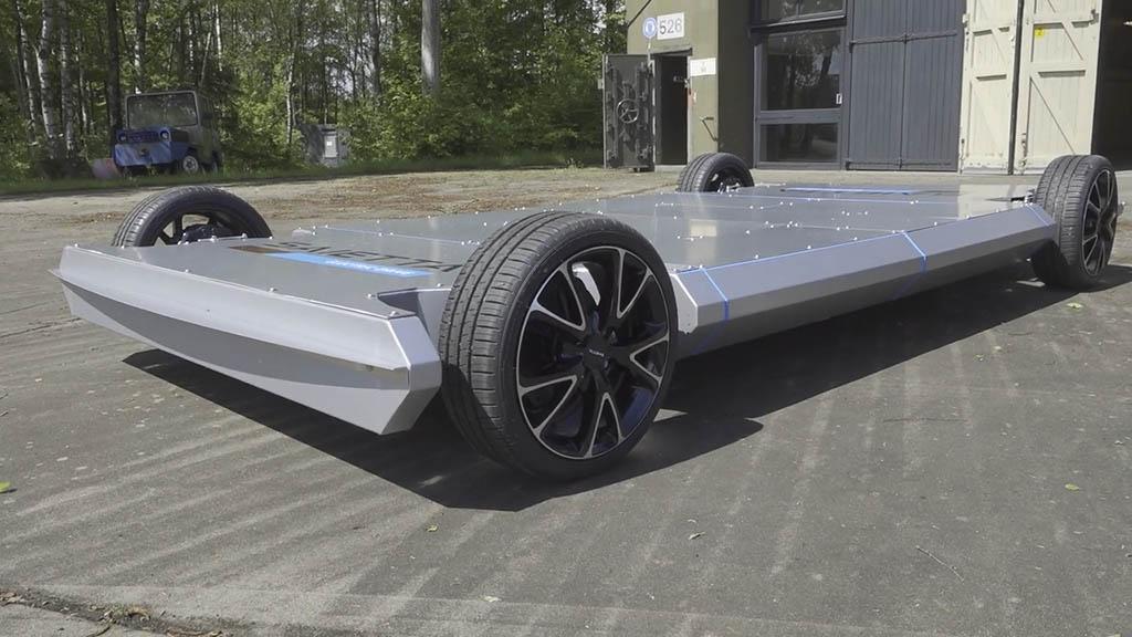 Saietta showcases in wheel motor technology - توسعه فناوری چرخها با موتور الکتریکی سرخود