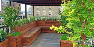 roof garden nyc roof garden manhattan amber freda home garden design 11134 e1566463685419 - روف گاردن(بام سبز) چیست|انواع روف گاردن