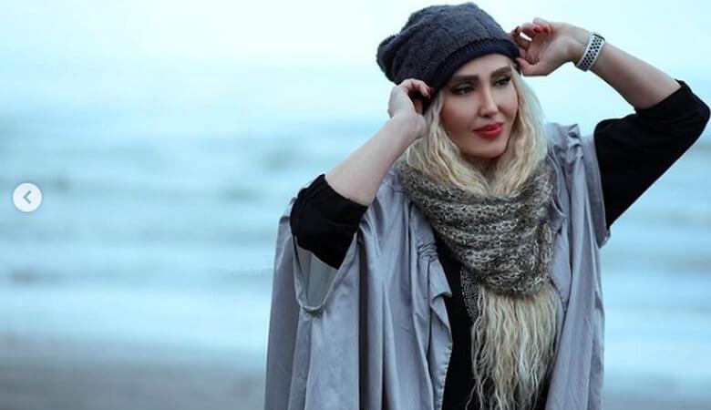 zihrehfakorsabor1 vaghtesobh - عکس/ خانم بازیگر در باغی مجلل